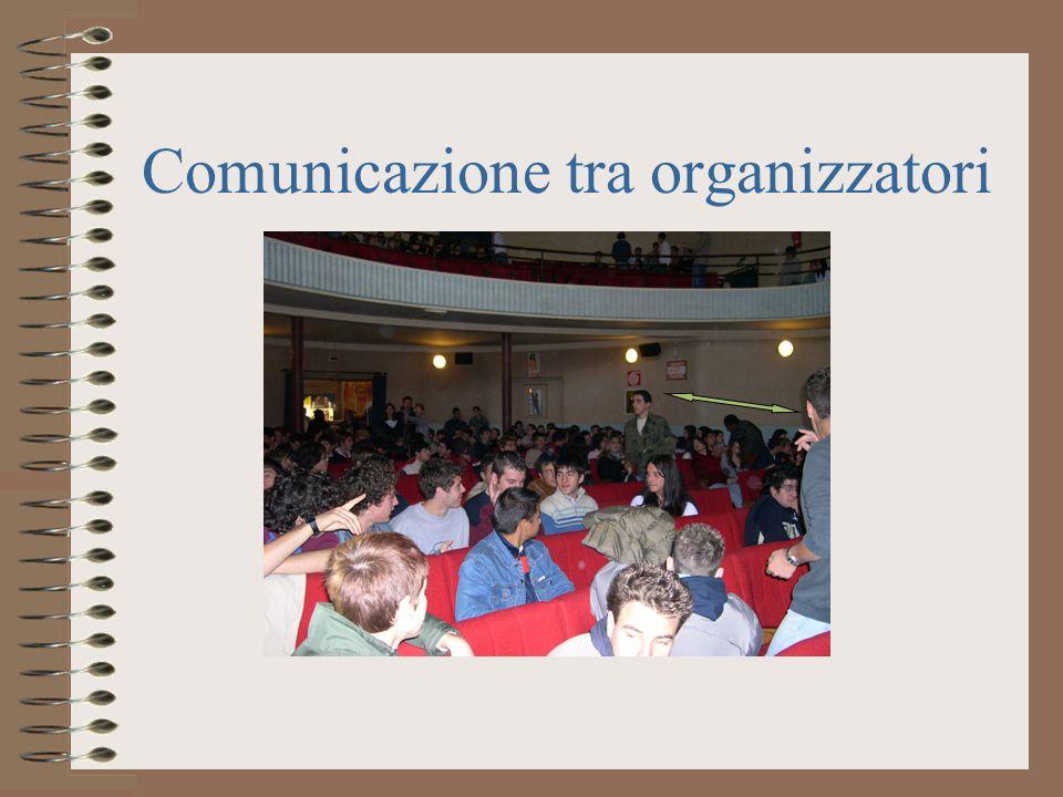 Comunicazione tra organizzatori