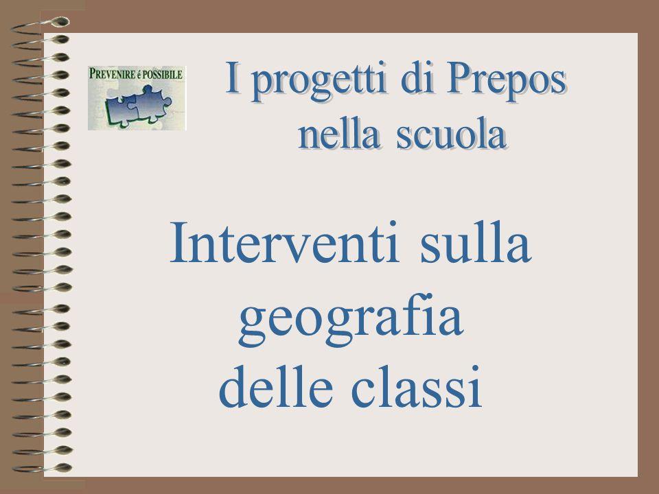 Interventi sulla geografia delle classi