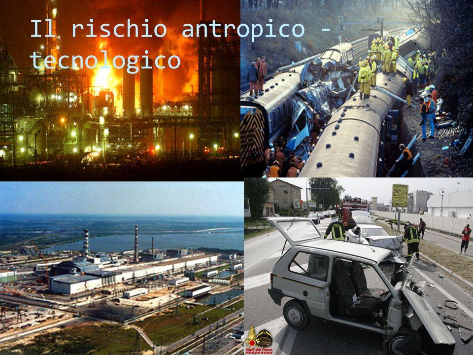 CORSO DI LAUREA CEGAANALISI E MITIGAZIONE DEI RISCHI AMBIENTALI Il rischio antropico - tecnologico