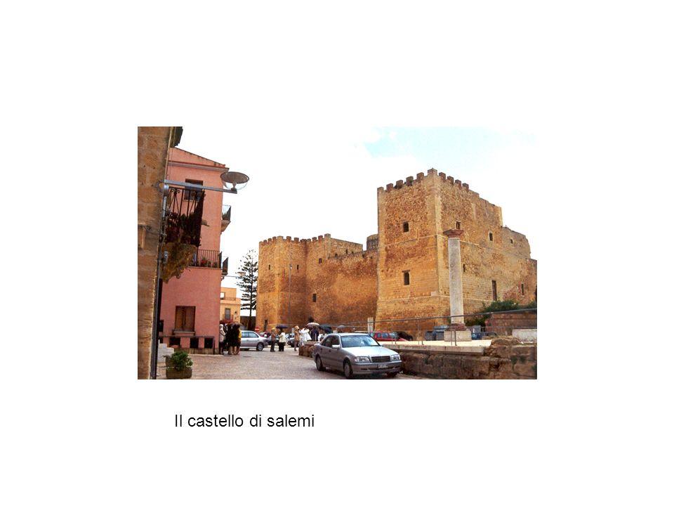 Il castello di salemi