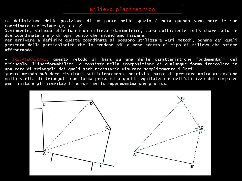 La definizione della posizione di un punto nello spazio è nota quando sono note le sue coordinate cartesiane (x, y e z). Ovviamente, volendo effettuar