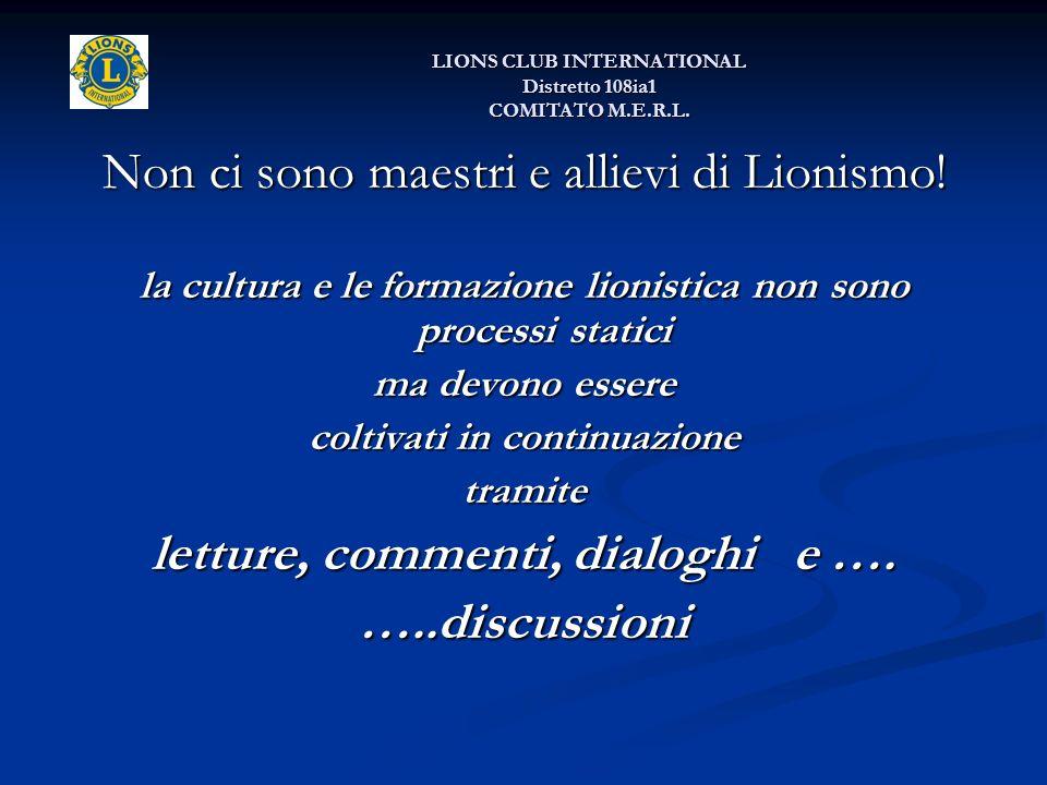 Non ci sono maestri e allievi di Lionismo. Non ci sono maestri e allievi di Lionismo.