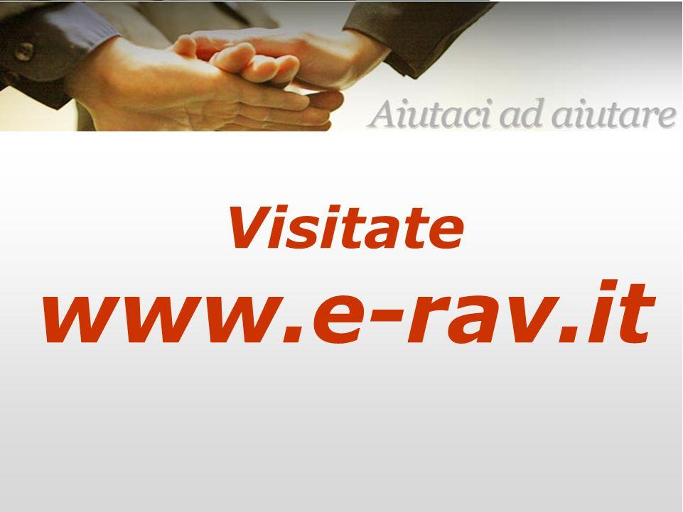 – 25 – E-RAV – 6 Maggio 2007 Per informazioni scrivete a: info@e-rav.it Grazie Roberto Leverone Amministratore della RAV Visitate www.e-rav.it