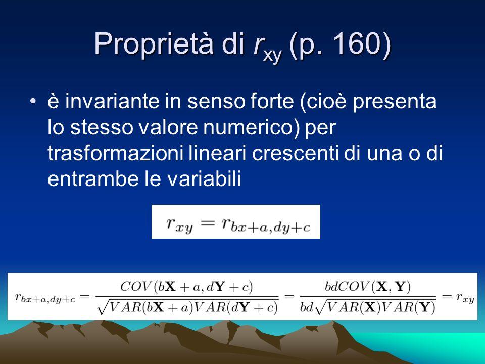 Proprietà di r xy (p.