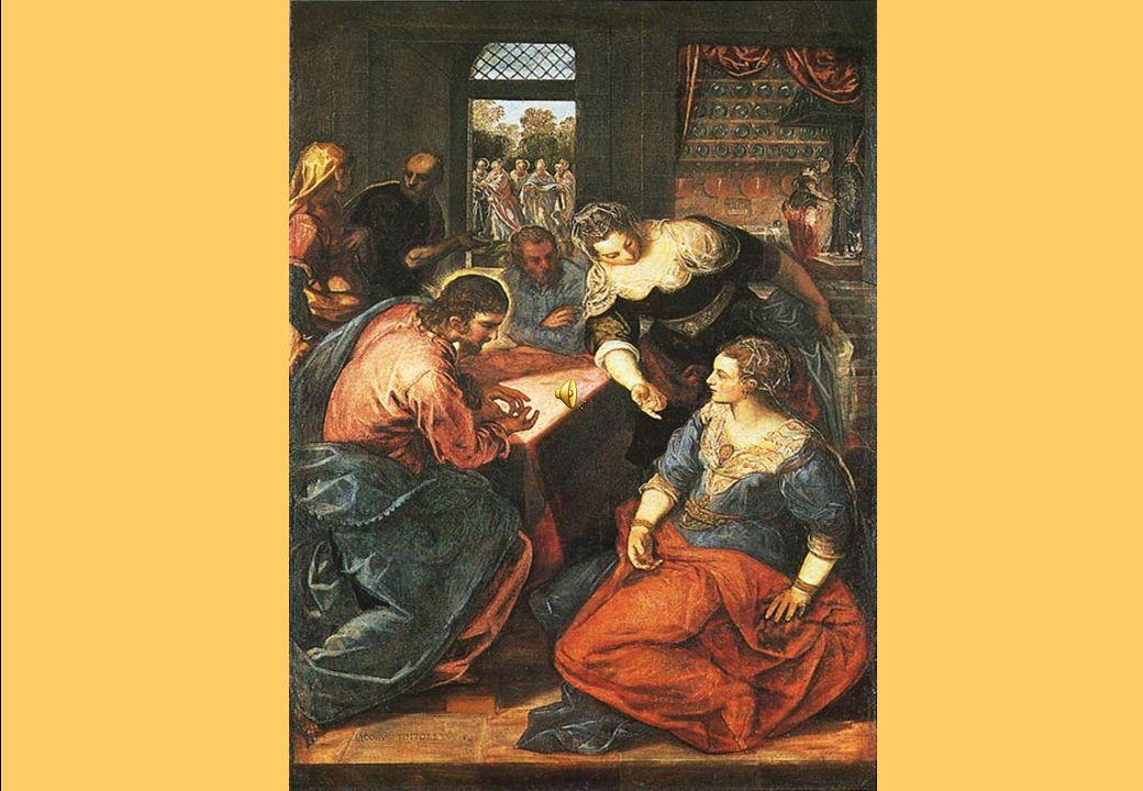 Marta e Maria … mentre erano in cammino, entrò in un villaggio e una donna, di nome Marta, laccolse in casa sua….