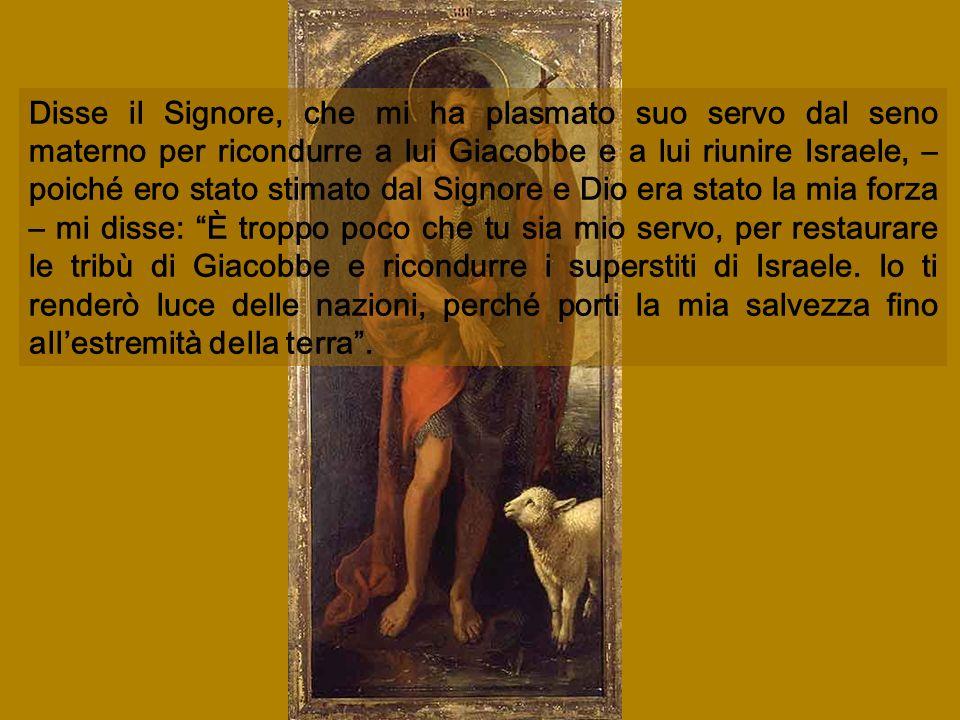 S. Giovanni Battista Indica Gesu S. Giovanni Battista Indica Gesu