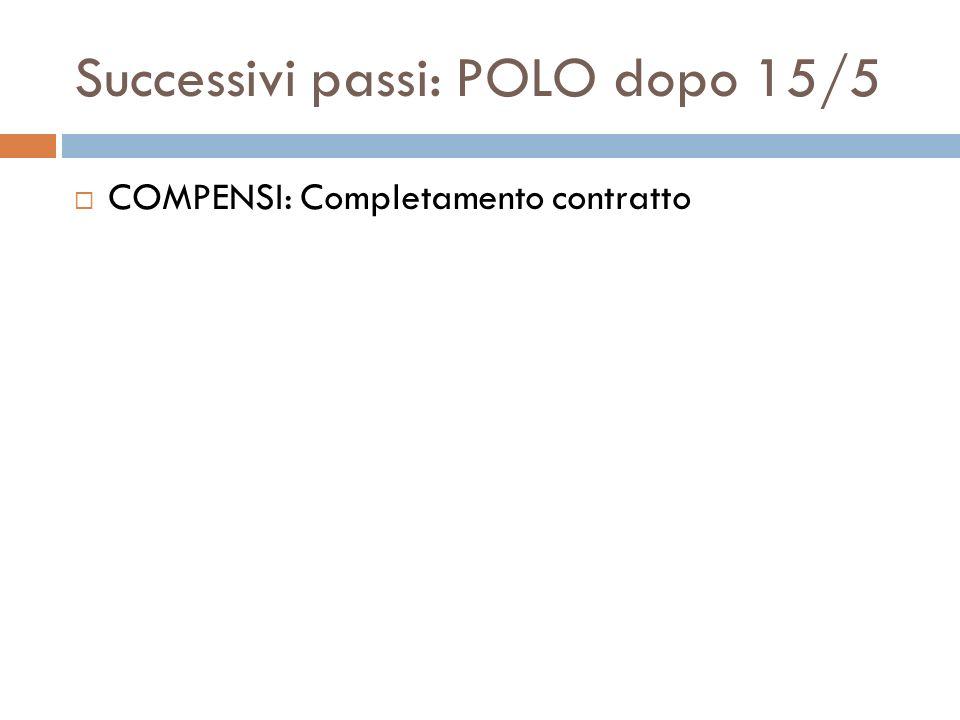 Successivi passi: APER CSA: Comunicazione ad anagrafe delle prestazioni CSA: Caricamento dati di ritorno