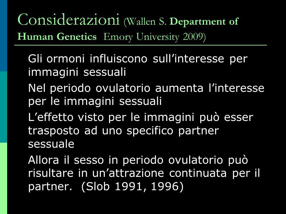 Considerazioni (Wallen S.