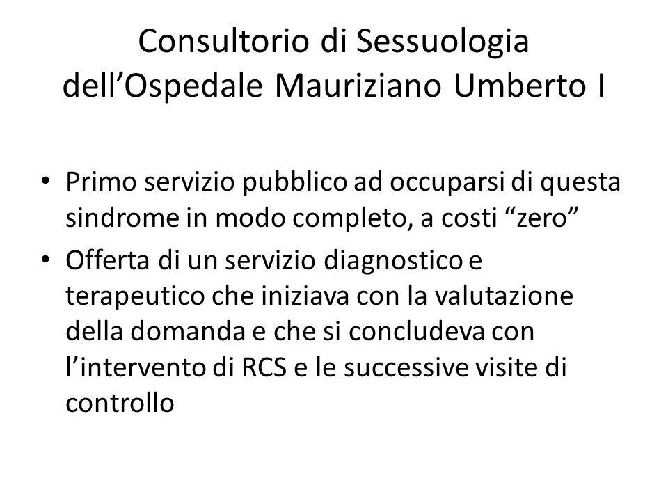 Altri centri Ospedale Niguarda di Milano (Servizio di Endocrinologia dal dr.