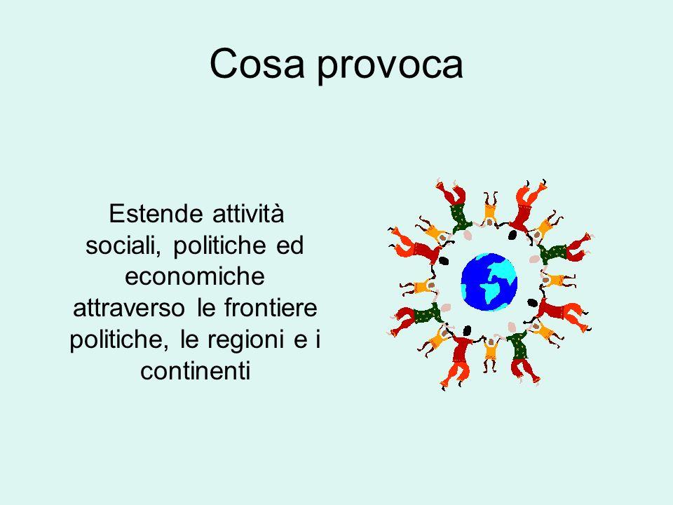 Gli accordi WTO coprono: Beni Servizi Proprietà intellettuali