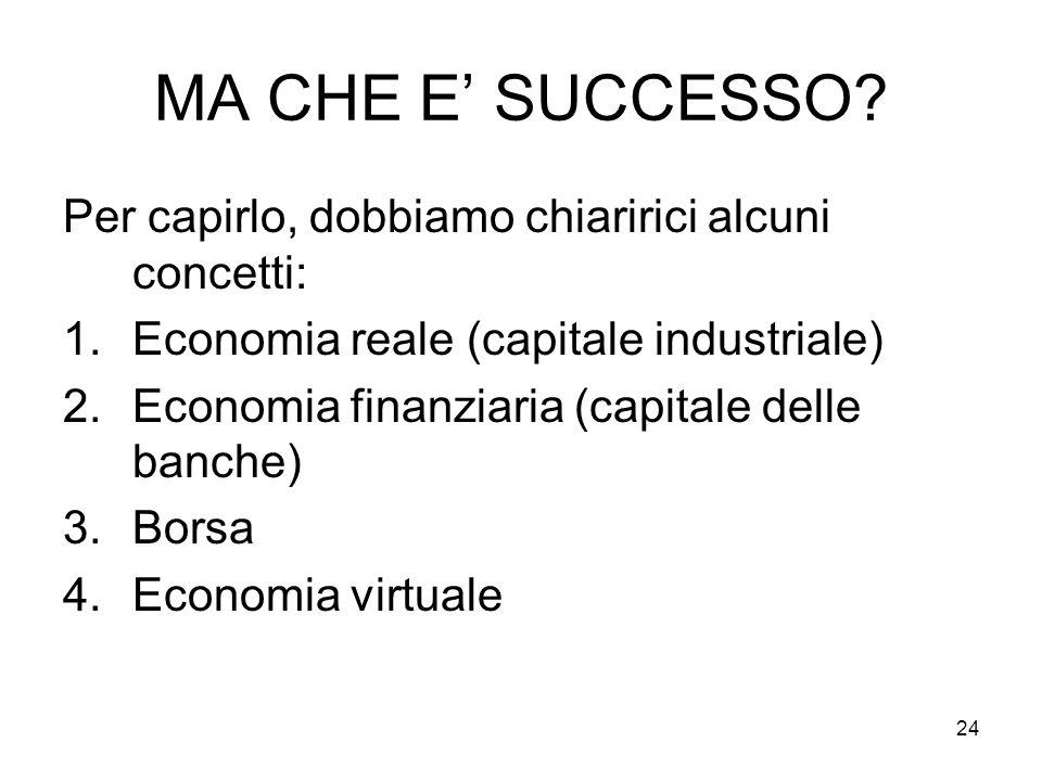 24 MA CHE E SUCCESSO.