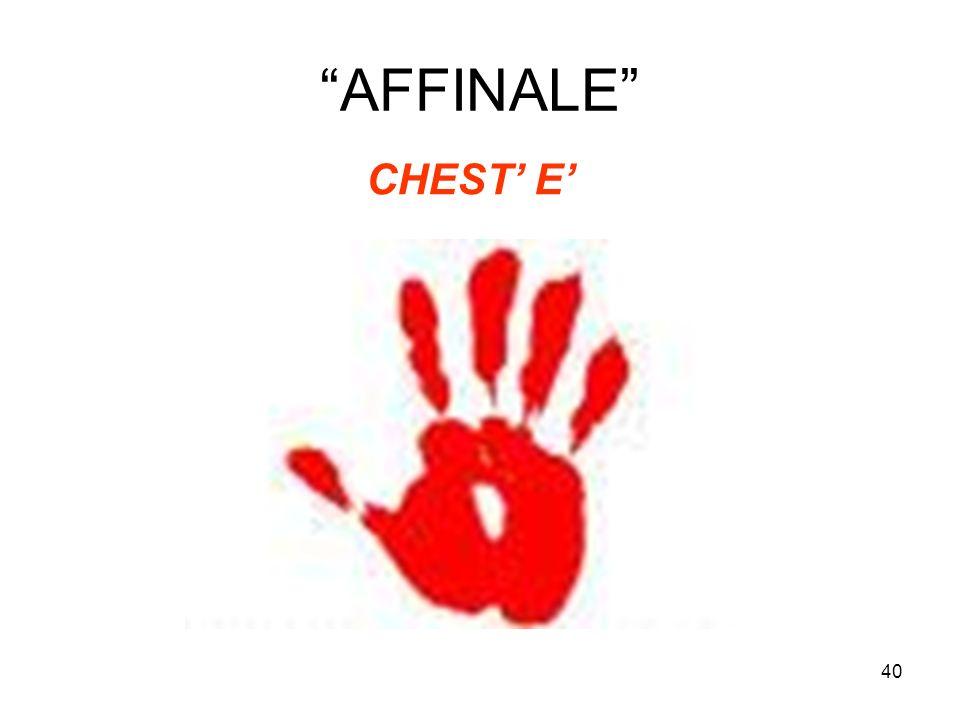 40 AFFINALE CHEST E