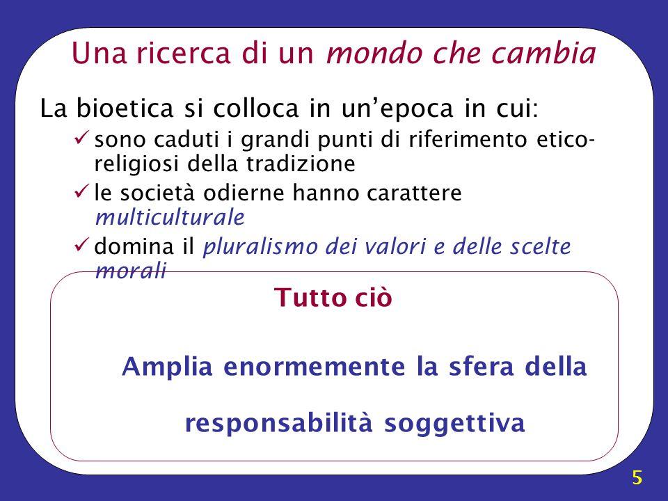 36 Bioetica: Livelli Istituzionali Unesco: –Dichiarazione Universale sulla Bioetica e i Diritti Umani Governo Italiano: –Comitato Nazionale per la Bioetica