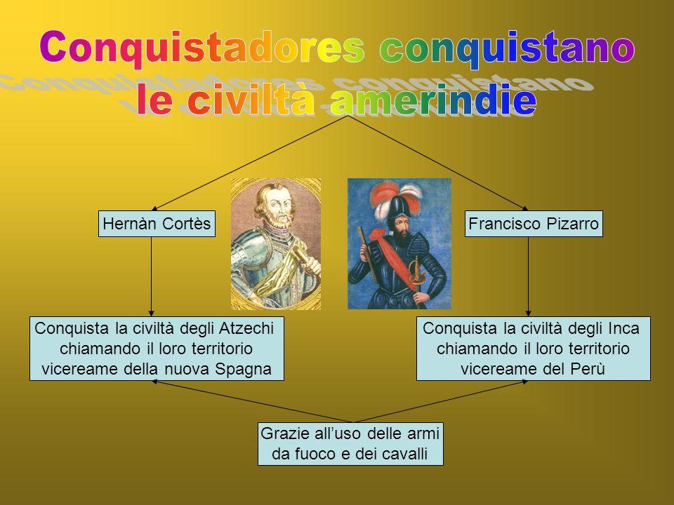 La distruzione delle civiltà amerindie Il calo demografico degli amerindi La tratta dei neri da cui derivano Conquista spagnola dellAmerica
