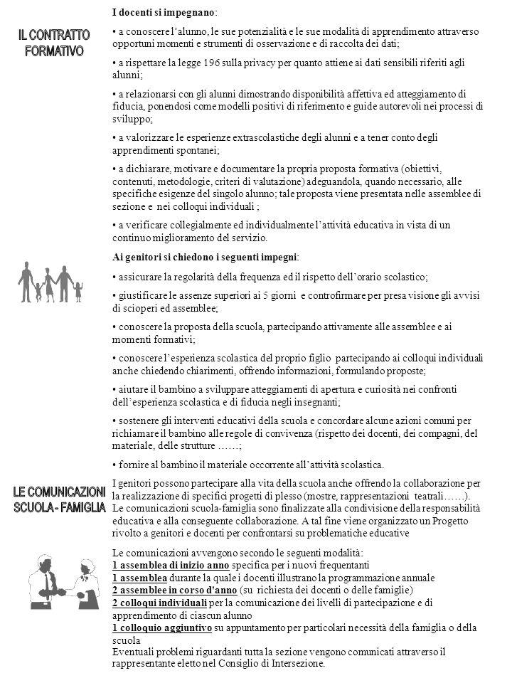 Per un buon funzionamento del servizio scolastico è necessario attenersi alle seguenti indicazioni: INGRESSO: All entrata i bambini vengono affidati dai genitori o dall assistente del servizio di trasporto direttamente ad un docente presente.