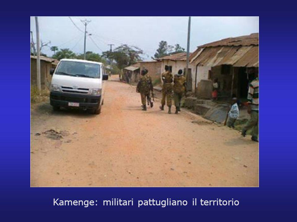 Kamenge: militari pattugliano il territorio