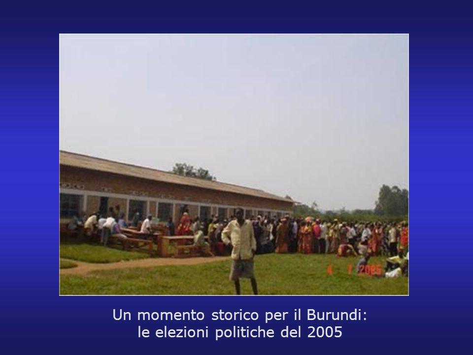Un momento storico per il Burundi: le elezioni politiche del 2005