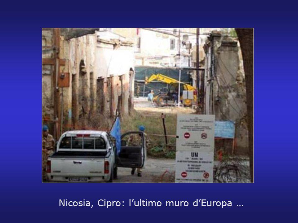 Nicosia, Cipro: lultimo muro dEuropa …