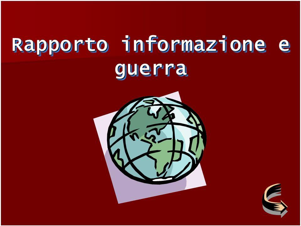 Rapporto informazione e guerra