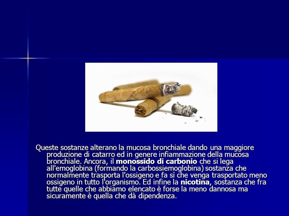 Cosa contiene una sigaretta Il fumo di tabacco è un aerosol micidiale di sostanze nocive. Sul pacchetto delle sigarette sembra da quello che si può le