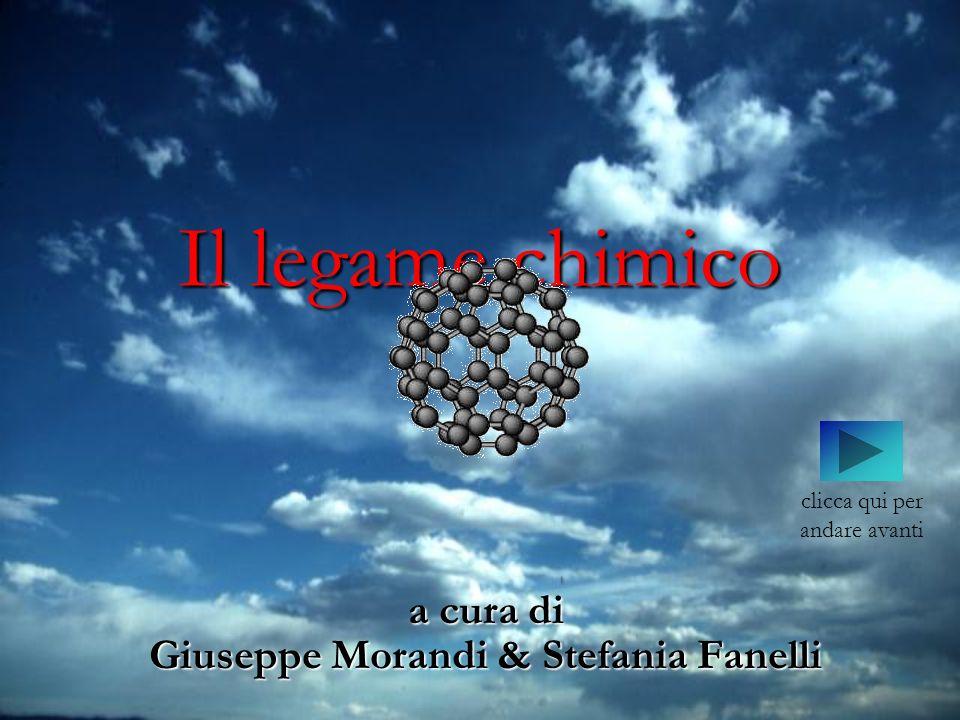 a cura di Giuseppe Morandi & Stefania Fanelli Il legame chimico clicca qui per andare avanti