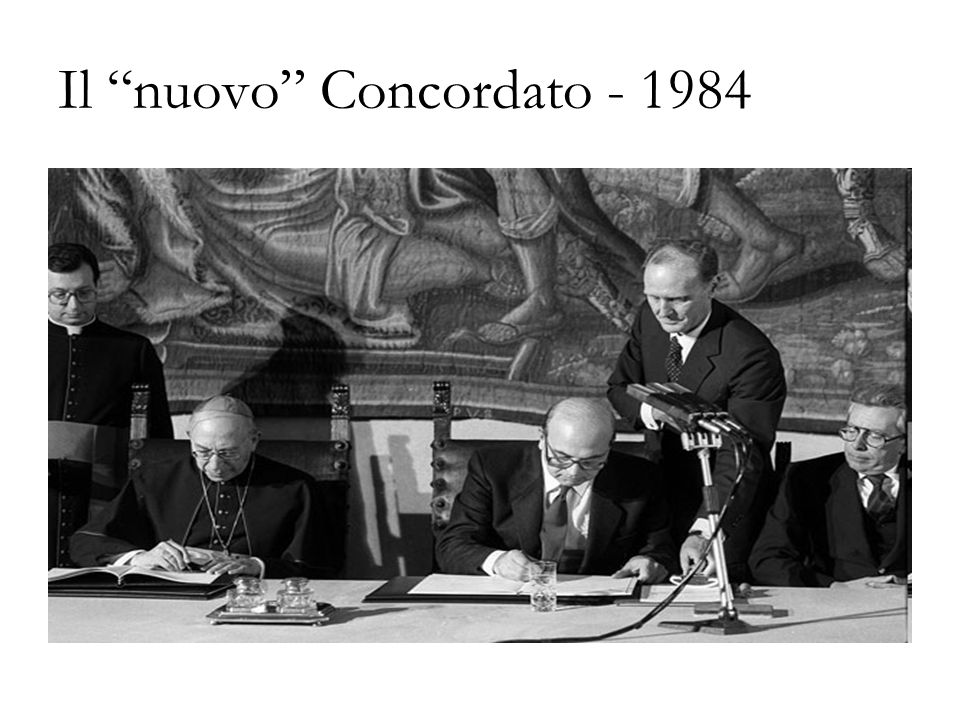 Il nuovo Concordato - 1984