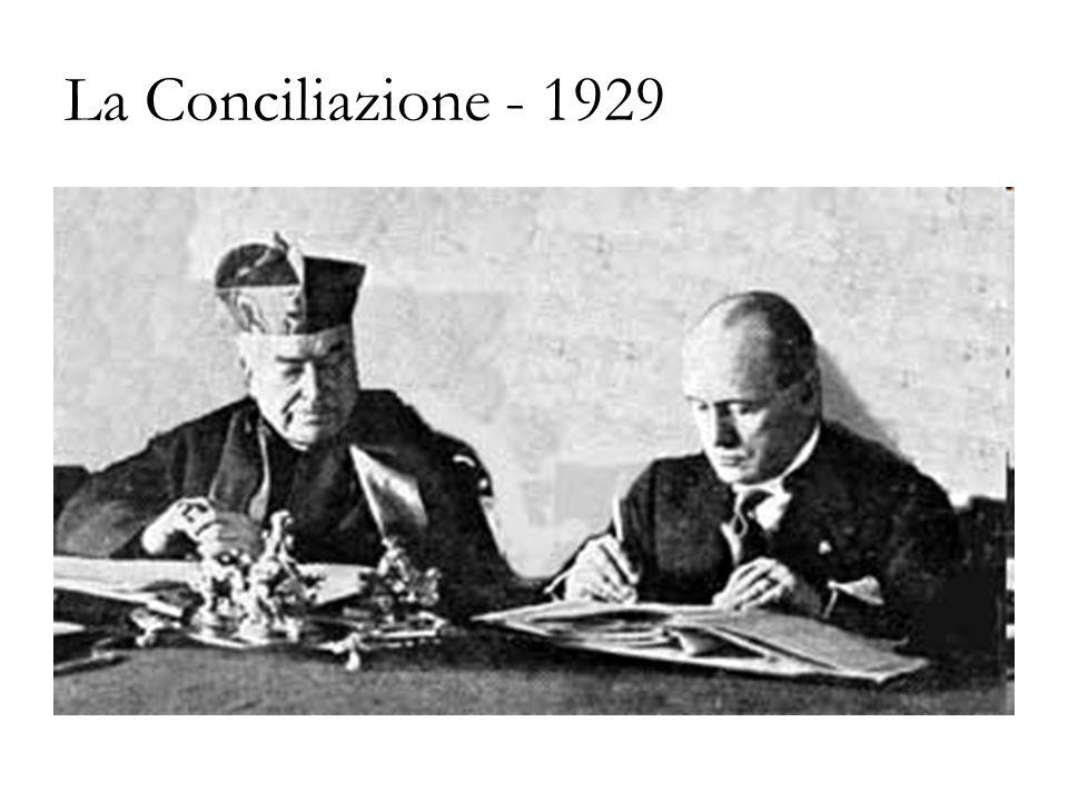 La Conciliazione - 1929