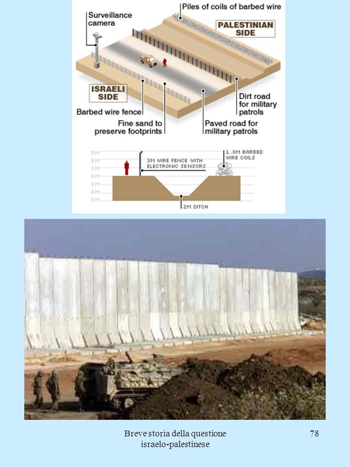 Breve storia della questione israelo-palestinese 78
