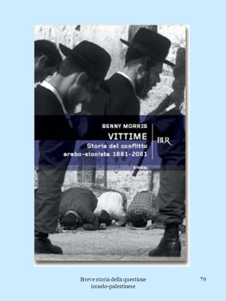 Breve storia della questione israelo-palestinese 79