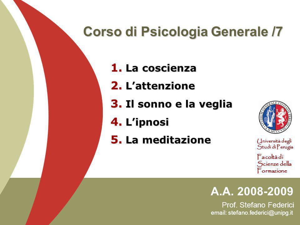 Prof.Stefano Federici email: stefano.federici@unipg.it A.A.