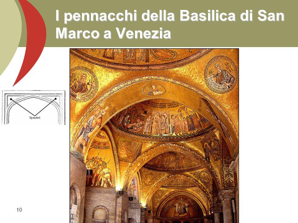 10 I pennacchi della Basilica di San Marco a Venezia