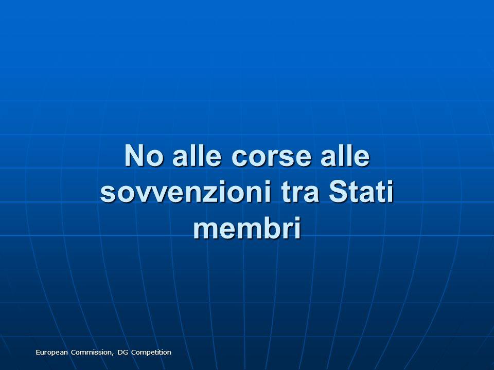 No alle corse alle sovvenzioni tra Stati membri