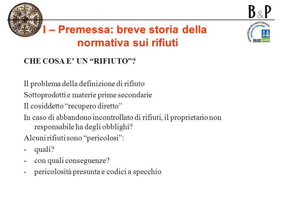I – Analisi dellarticolato (9a) Art.