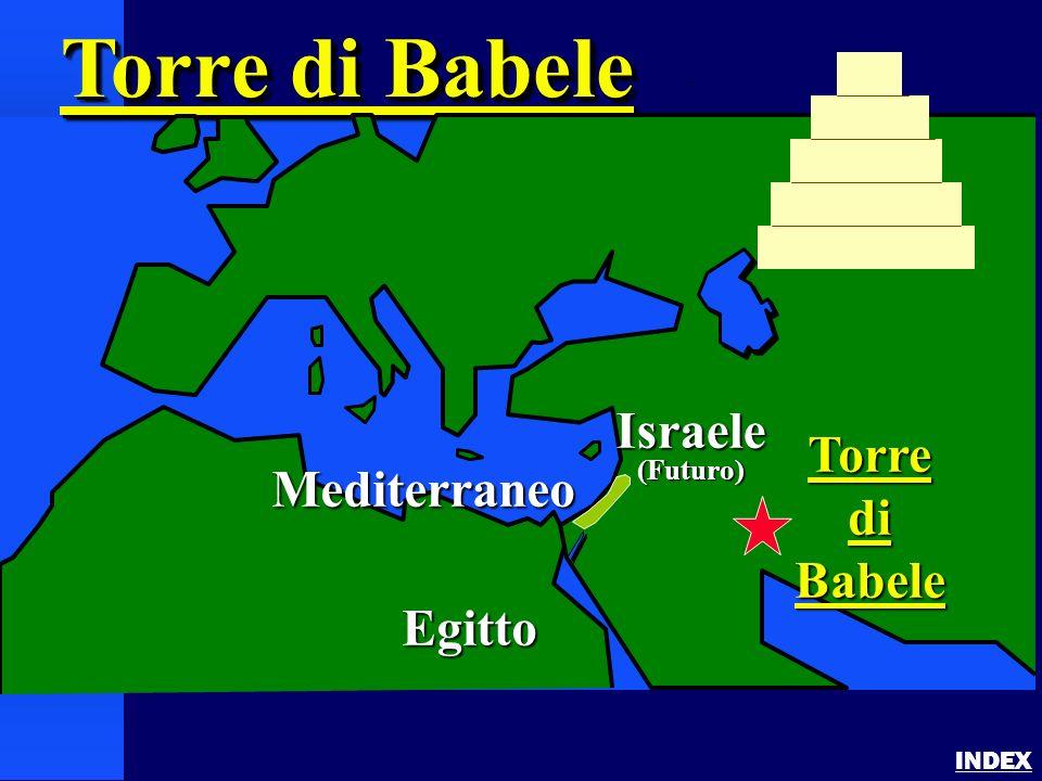 Tower of Babel INDEX Torre di Babele Mediterraneo Israele(Futuro) Egitto TorrediBabele