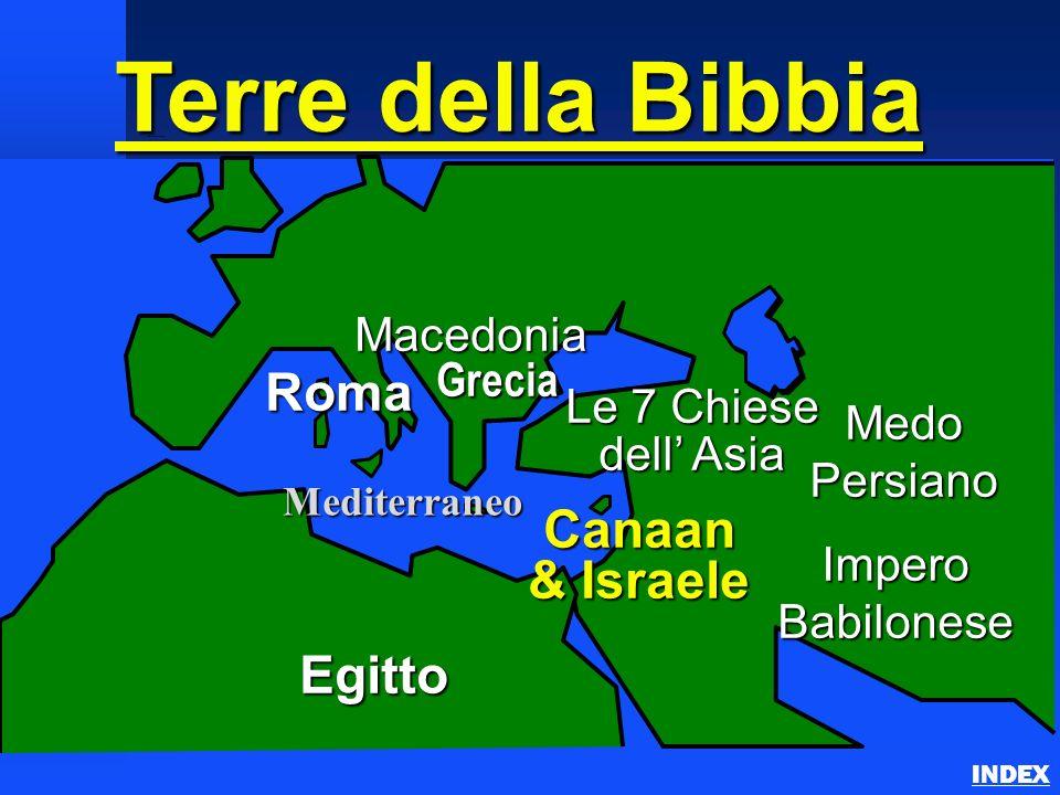 Roma Macedonia Impero Babilonese Canaan & Israele Egitto Medo Persiano Mediterraneo Grecia Le 7 Chiese dell Asia Terre della Bibbia Important Ancient