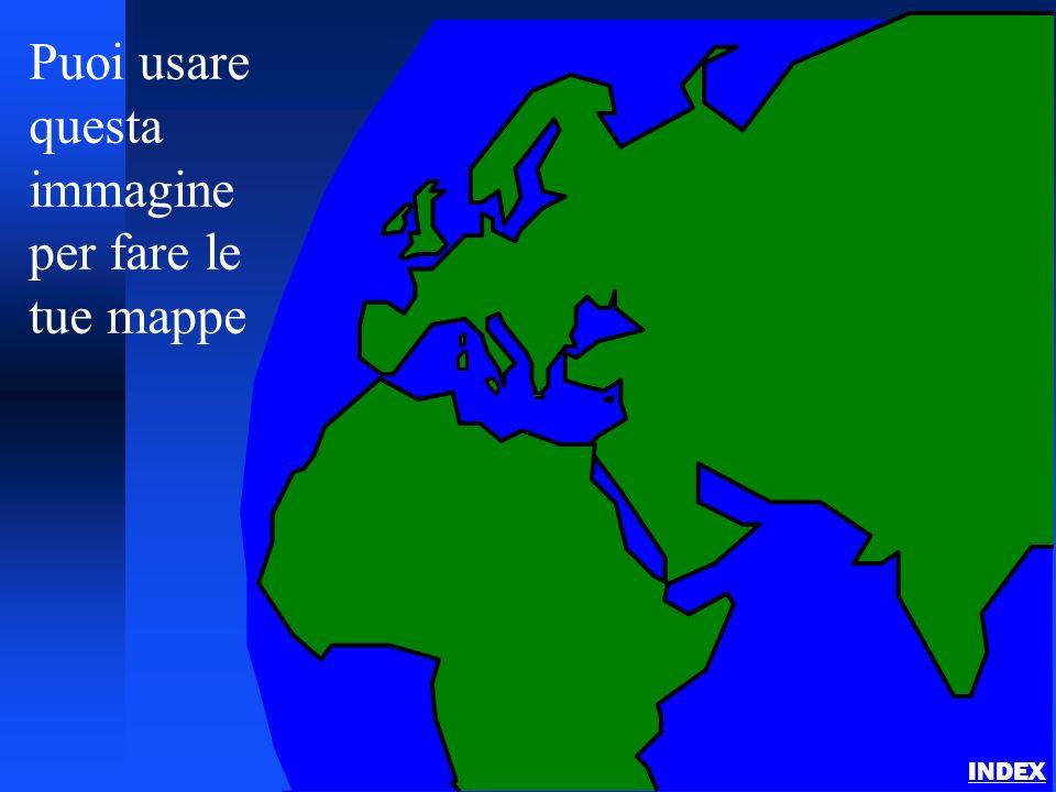 Puoi usare questa immagine per fare le tue mappe INDEX