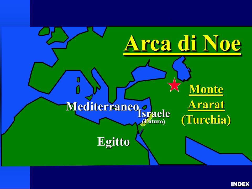 Noahs Ark 1 INDEX Mediterraneo Egitto MonteArarat(Turchia) Arca di Noe Israele(Futuro)