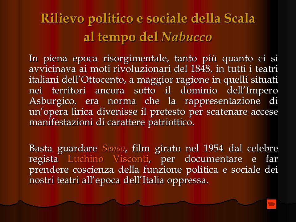 Il Nabucco: Verdi involontario portavoce di istanze patriottiche Luomo che Mazzini invocava era dietro langolo: Verdi sembrò immediatamente capace di
