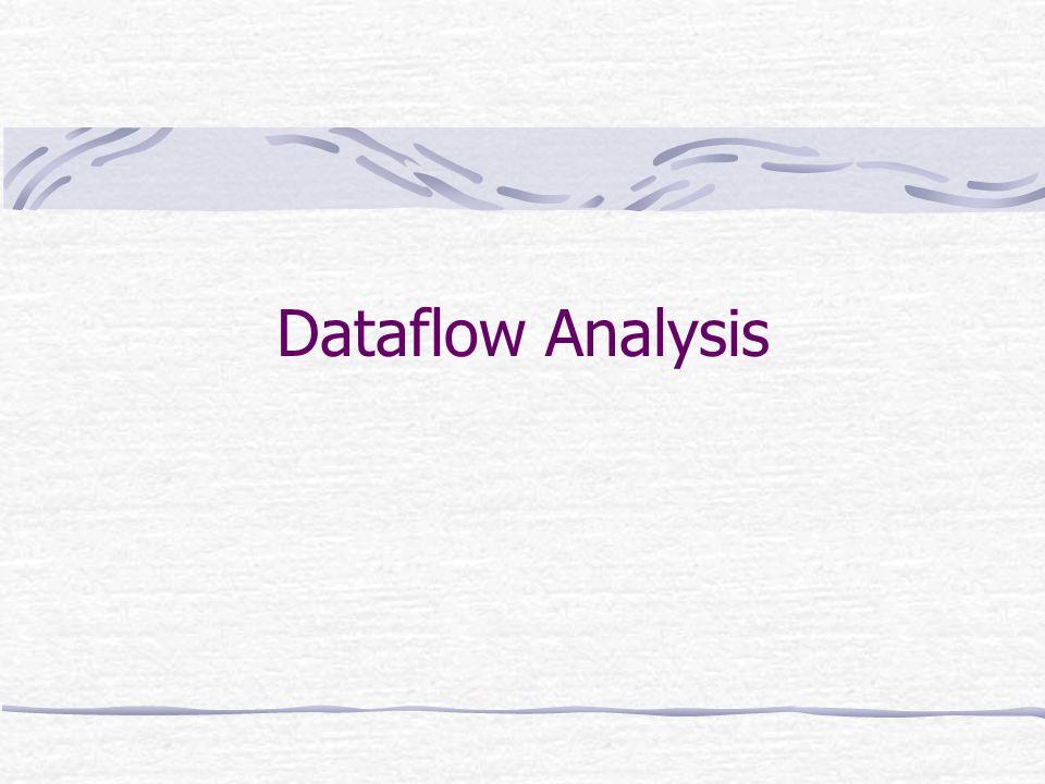 Tino CortesiTecniche di Analisi di Programmi 2 Dataflow Analysis Il punto di partenza per una dataflow analysis è una rappresentazione del grafo di controllo del programma I nodi di questo grafo possono rappresentare uno o più comandi del programma, e sono in corrispondenza a punti del programma La specifica dellanalisi è data mediante un insieme di equazioni che legano linformazione che si sta analizzando ai punti del programma (ovvero ai nodi del grafo)