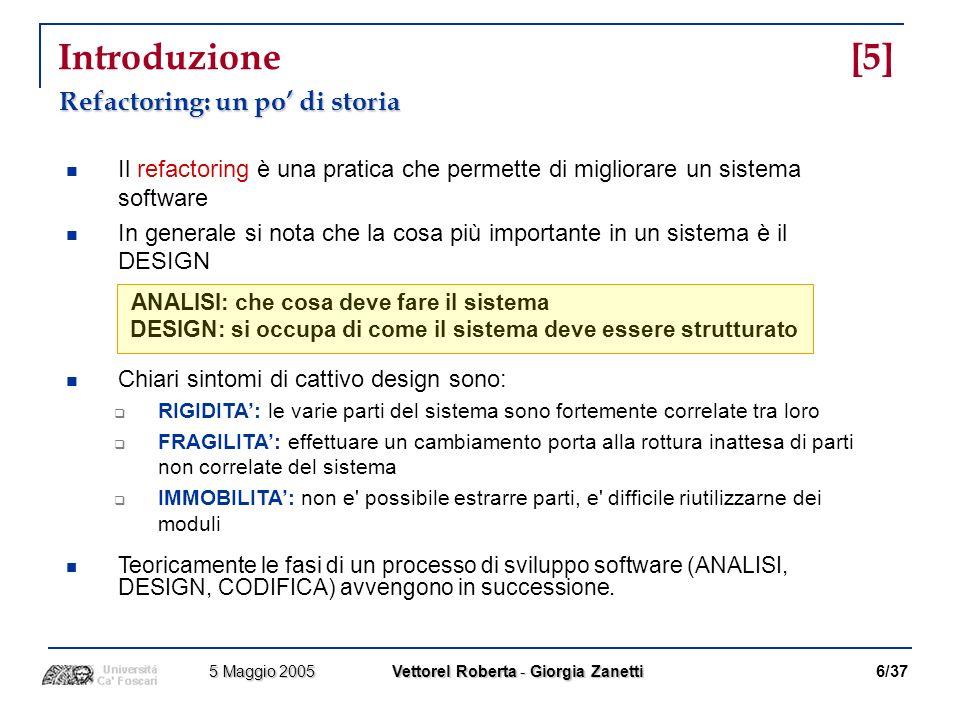 Riferimenti [2] EXTREME PROGRAMMING F.Acebal, M.