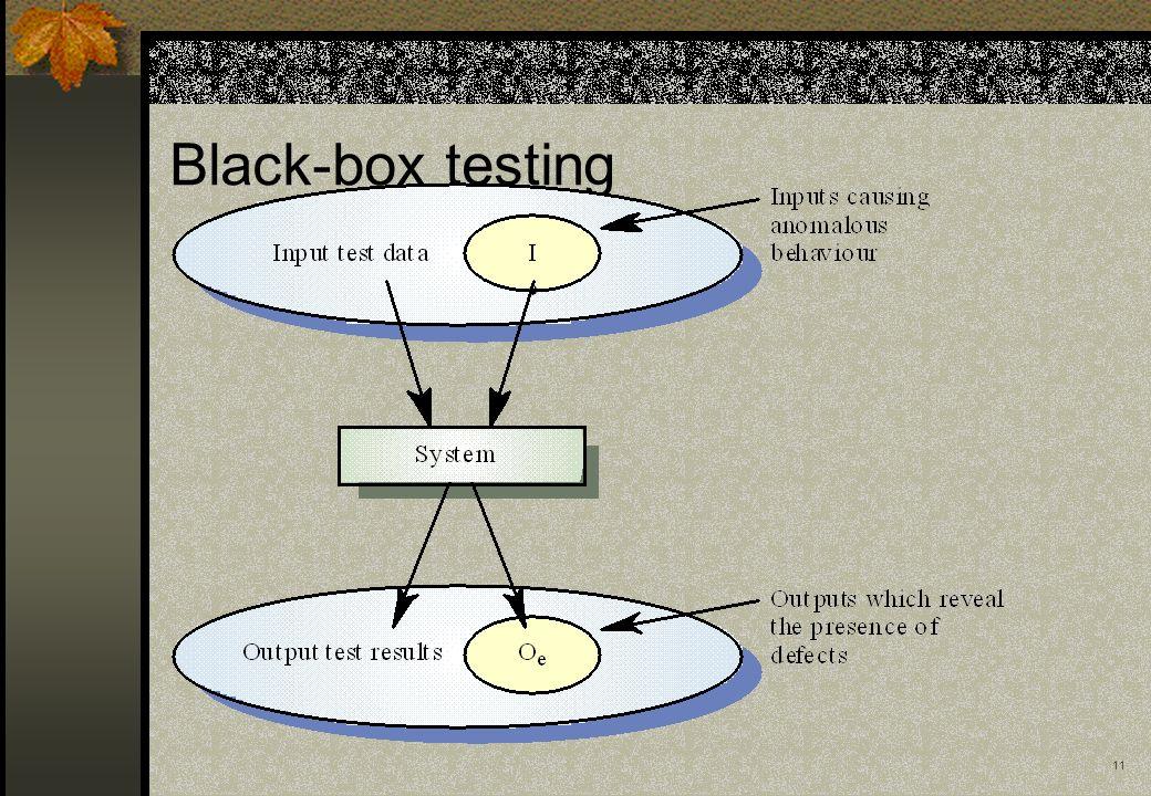 11 Black-box testing