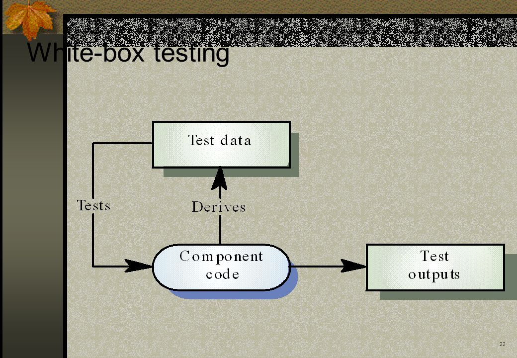 22 White-box testing