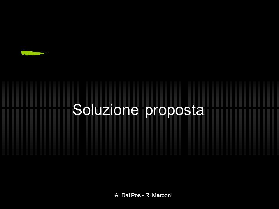A. Dal Pos - R. Marcon Soluzione proposta