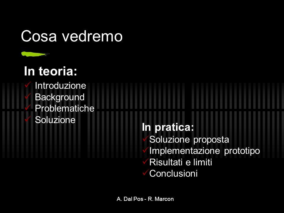 A. Dal Pos - R.