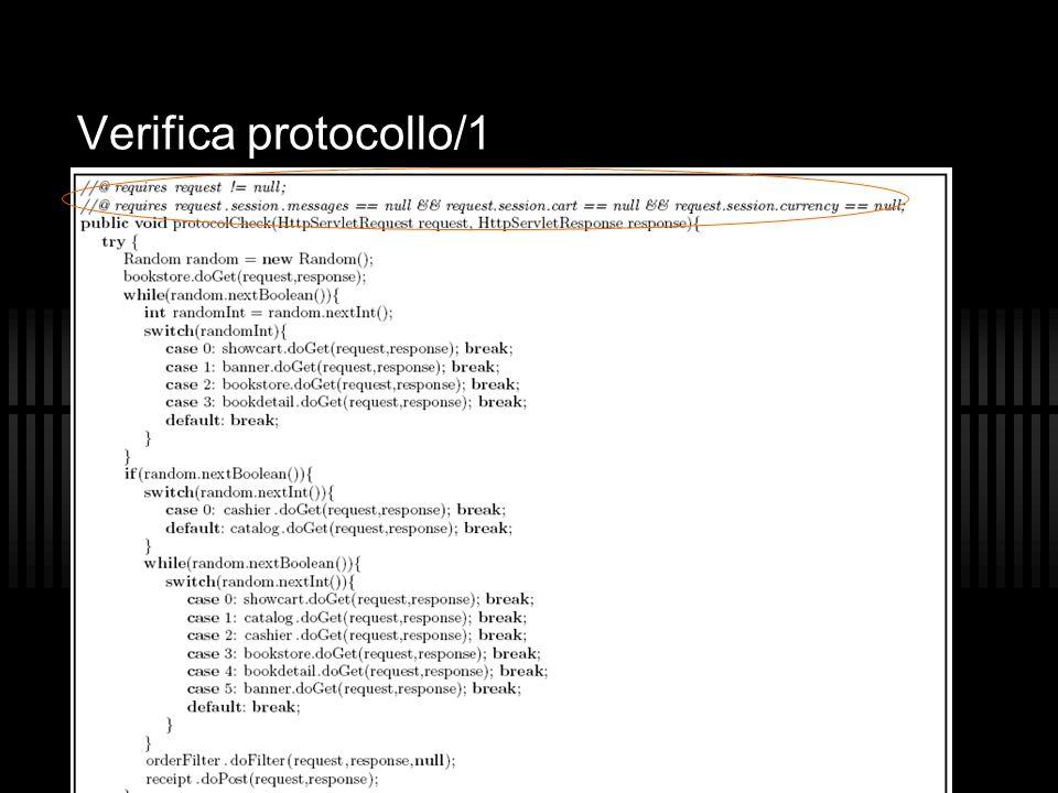 A. Dal Pos - R. Marcon Verifica protocollo/1