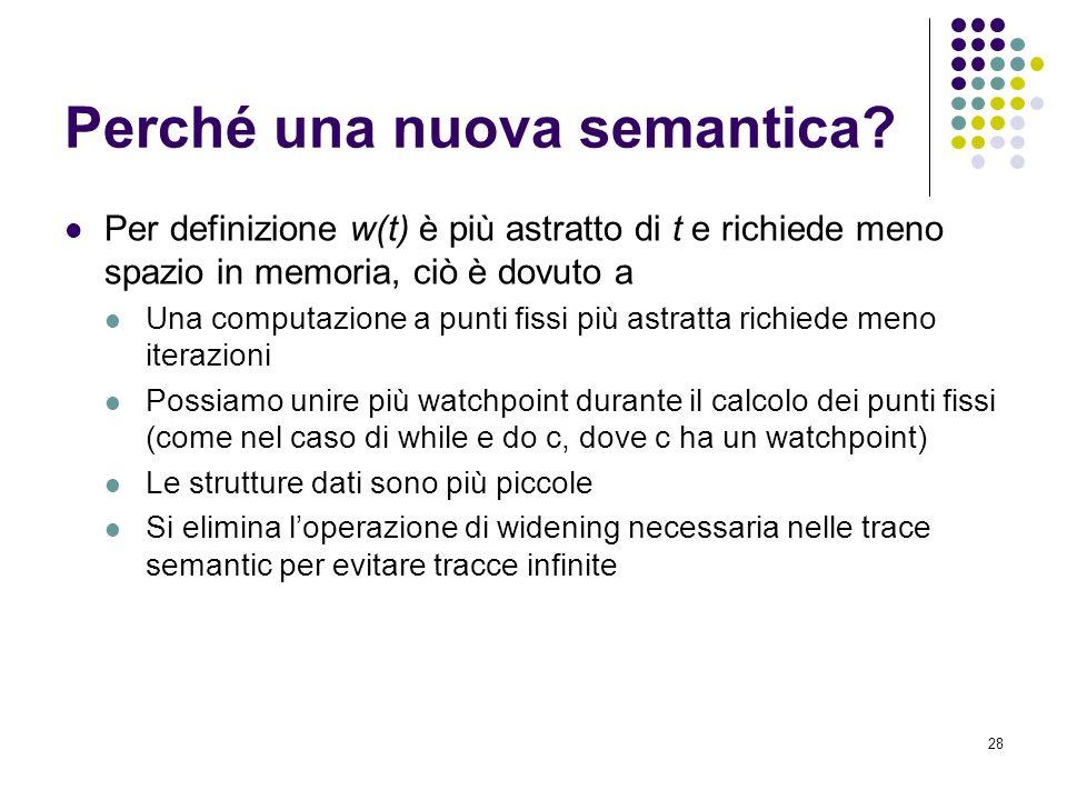 28 Perché una nuova semantica.