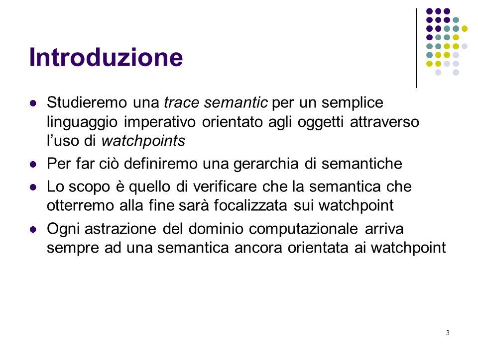 24 Trace semantic [3] Lordinamento sulle tracce viene fatto dando una semantica a punti fissi alle istruzioni iterative (istruzione while) ed ai metodi ricorsivi.