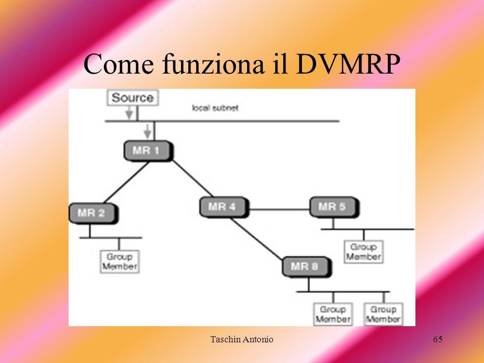 Taschin Antonio65 Come funziona il DVMRP