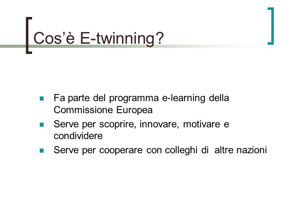 Cosè E-twinning.