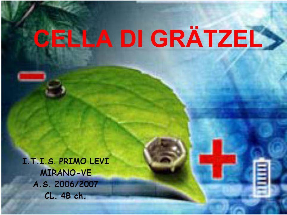 CELLA DI GRÄTZEL I.T.I.S. PRIMO LEVI MIRANO-VE A.S. 2006/2007 CL. 4B ch.